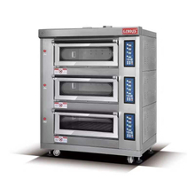 BDR-60H Gas Tripple Deck Oven For Bakery