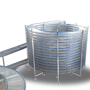BDL-650 650mm Stainless Steel Spiral Cooling Conveyor For Cake